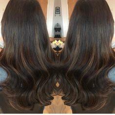 We're kinda obsessed!!! Hair by @jasonmeacher using shades 2 & 4/6 from our Salon Professional Range!!! @rehab_finnieston #glasgow #hair #extensions