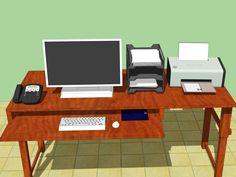 How to Set Up an Ergonomically Correct Workstation -- via wikiHow.com