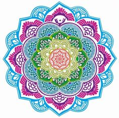 Chic Tassel Indian Mandala Lotus Printed - Beach Towel - Yoga Mat - Round Beach Blanket