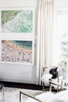 Chriselle Lim Home - Gray Malin Framed Beach Prints