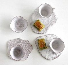 To know more about valerie casado tableware, visit Sumally, a social network that gathers together all the wanted things in the world! Featuring over 5 other valerie casado items too! Pottery Plates, Pottery Mugs, Ceramic Pottery, Cool Ideas, Ceramic Plates, Ceramic Art, Ceramic Studio, Pottery Designs, White Clay