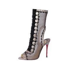 CHRISTIAN LOUBOUTIN 靴&バッグのカタムグ検索   VOGUE.COM by None, via Polyvore