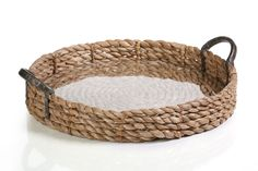 Seagrass Rolled Tray