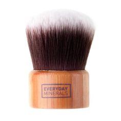 Kabuki štětec s krátkou rukojetí Eco Botan Everyday Minerals Makeup Tools, Makeup Brushes, Face Brushes, Mineral Cosmetics, Makeup Cosmetics, Synthetic Brushes, How To Apply Foundation, Finishing Powder, Natural Shampoo