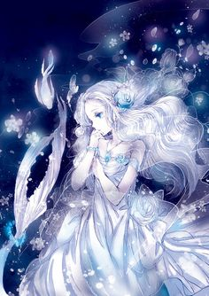 the best of pixiv, anime art, underwater, fish, fantasy