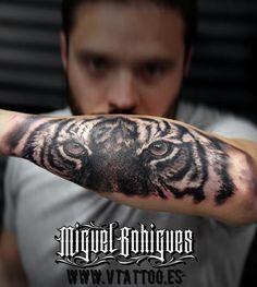 Tatuaje tigre - Miguel Bohigues - Vtattoo