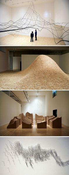Maya Lin - Systematic Landscapes | installation | Pinterest