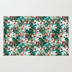 #Seamless #floral #floralpattern #flower #flowerpattern #digital #digitalprint #print #society6 #duardodoreni #moda #fashion #themostnew #tropical #botanical #garden #colors #rug