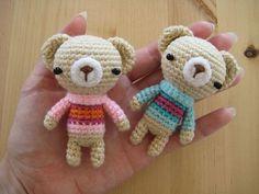 Sweater Bearies ☺ Free Crochet Pattern ☺