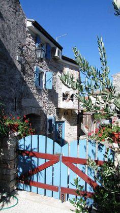 Istrian stone house