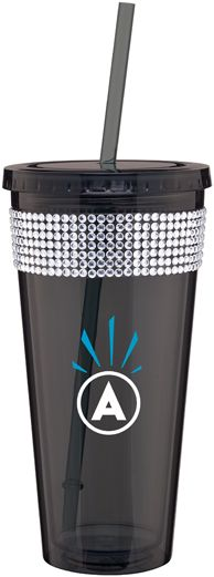 Tumblers with bling! $9.99 with 1 color imprint (min 48)