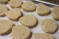 It has grown on me!: How to Bake Crunchy Okara Cookies - Healthy Protein Cookies Protein Cookies, Healthy Cookies, Okara Recipes, Gluten Free Recipes, Vegan Recipes, Homemade Tofu, No Cook Desserts, Biscuit Cookies, Healthy Protein