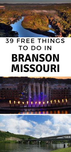 39 Free Things to do in Branson Mo Instead of pumping out hundreds of dollars to pay for things to do, take advantage of all the free things to do in Branson MO. Vacation Places, Vacation Spots, Places To Travel, Places To See, Travel Destinations, Cruise Vacation, Disney Cruise, Greece Vacation, Mexico Vacation