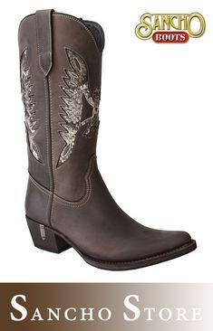 8fba990568 Sancho Boots 9731 Savannah Western Damenstiefel