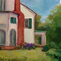 """Daily Paintworks - """"Belmont"""" by Carol Josefiak"""