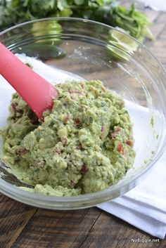 easy guacamole recip