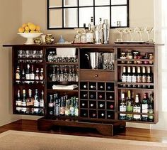52 best Liquor Storage Cabinet Ideas images on Pinterest | Bar home ...