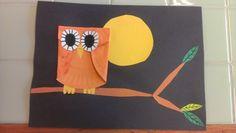 Owl craft bird storytime