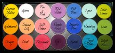 Matte Colours- How to Organize Your MAC Eyeshadows – Makeup Geek Mac Makeup, Makeup Geek, Skin Makeup, Beauty Makeup, Makeup Brush, Mac Eyeshadow Palette, Eyeshadows, Mac Palette, Sombras Mac