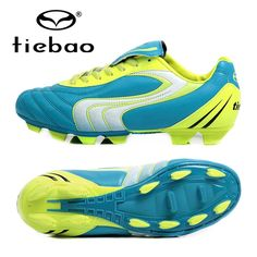 49.80$  Buy now - http://aliohi.worldwells.pw/go.php?t=32755057125 - TIEBAO Professional FG & HG Soles 38-44 Size Soccer Shoes Sneakers Men Women Football Boots Athletic Sports Soccer Cleats