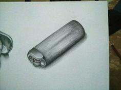 30 días dibujando: 22/30.  #Dibujo #draw #drawing #pencil #lapiz #fire #encendedor #lighter