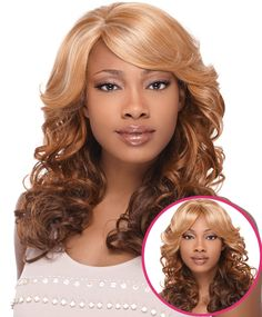Sensationnel Synthetic Empress Natural Lace Front Edge Wig BEVERLY