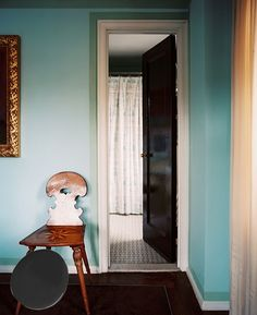 """""""Black lacquer"""" Benjamin Moore (on door)"""