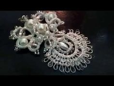 My Angel (Tatting,Frivolité, Orecchini, Фриволите,Encaje, 梭織) FREE PATTERN - YouTube