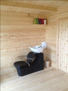 Elba Log Cabin - Hairdressing Salon 2013