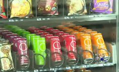 Why Not Just Stuff Vending Machines With Healthy Snacks Instead Of Junk?