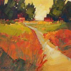 6-8″ Landscapes by Karen White (of Palo Alto, CA)