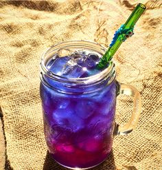Butterfly Pea Flowers One of the coolest things I have ever discovered is dried Butterfly Pea Flowers. It is mostly used as a tea but I use it to create a natural blue color for some of my smoothie...