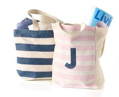 DIY Tote Bags for summer activities