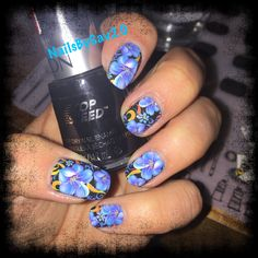 Flower decal. Waterdecal nailart nail