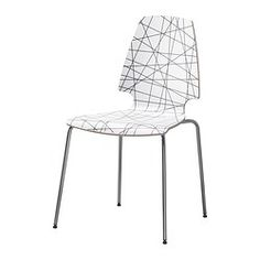 "VILMAR Chair - IKEA - $39 (cheaper chair option) - Width: 20 1/2 "" Depth: 21 5/8 "" Height: 35 """