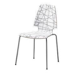 "VILMAR Chair - IKEA - $39 (cheaper chair option) - Width: 20 1/2 "" Depth: 21 5/8 "" Height: 35 """