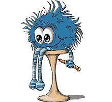 BLUE SOCK BUDDY by Sally Barnett