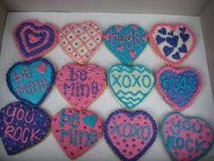 Kid Valentine's Day Cookies