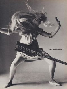 August 1985 | Vogue: Heavy Petal: Women In Rock, Tina Weymouth