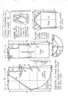 New embroidery dress pattern fashion shirts Ideas Dress Sewing Patterns, Sewing Patterns Free, Sewing Tutorials, Clothing Patterns, Sewing Projects, Shirt Patterns, Diy Vestidos, Costura Fashion, Sewing Clothes Women