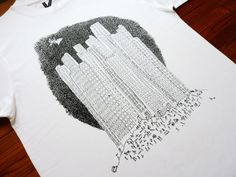 Towers - Tee by Anna Valgreen | WOLLAWONKA