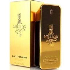 1 Million Eau de Toilette Paco Rabanne - Perfume Masculino - 100ml - Vendas: Whats 13 988766746  https://m.facebook.com/Multimarcas-Mix-Outlet-das-Grifes-469924043210086/ #perfumes #perfume #michaelkors #carolinaherrera #perfumeimportado