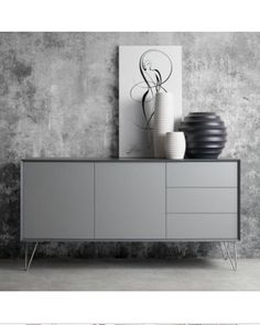 Sideboard Jerrell I Matt Grau Sideboard Jerrell I Matt Grau Mehr The post Sideboard Jerrell I Matt Grau appeared first on Schlafzimmer ideen. Living Furniture, Home Furniture, Furniture Design, Furniture Stores, Living Room Decor Orange, Modern Sideboard, Credenza, Deco Buffet, Multipurpose Furniture