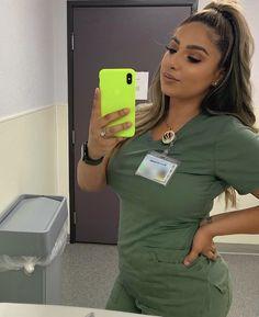 Cute Nurse, Nurse Love, Sexy Nurse, Scrubs Outfit, Scrubs Uniform, Cute Scrubs, Cute Medical Scrubs, Nursing Scrubs, Nurse Aesthetic