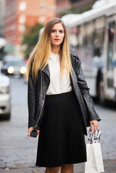 The 46 Best Hairstyles From Fashion Week #refinery29  http://www.refinery29.com/hairstyles-from-fashion-week#slide27  Maggie Vasconi's super-straight look.