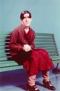 Ruth Buzzi from Laugh-In!  Ruth Buzzi is one of my personal hero's.  What a remarkable woman!!  :)