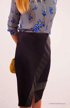 #blackskirt #elegance www.sapiostore.ro Stylish Outfits, Personal Style, Feminine, Glamour, Elegant, Skirts, Clothing, Fashion, Dapper Clothing