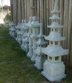 Produção de lanternas de pedra em nosso atelier em Ouro Preto/MG