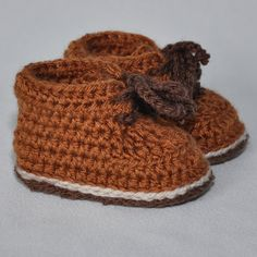 Your place to buy and sell all things handmade Crochet For Kids, Hand Crochet, Crochet Baby Booties, Crochet Hats, Baby Hiking, Baby Needs, Hiking Boots, Baby Shoes, Winter Hats