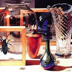 Paul Jackson John Paul Jackson, Hyperrealism, Still Life Art, Watercolor And Ink, Opera, Drawings, Watercolors, Painting, Artists